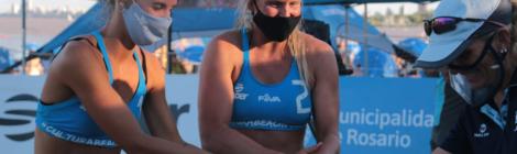 #BeachVolley / Brenda Churin se prepara para su primera chance olímpica
